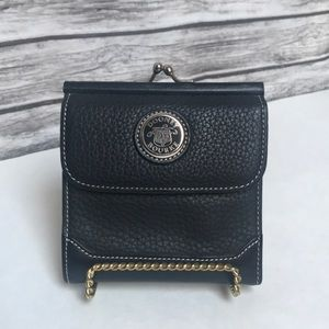 Dooney & Bourke Black Leather Trifold wallet